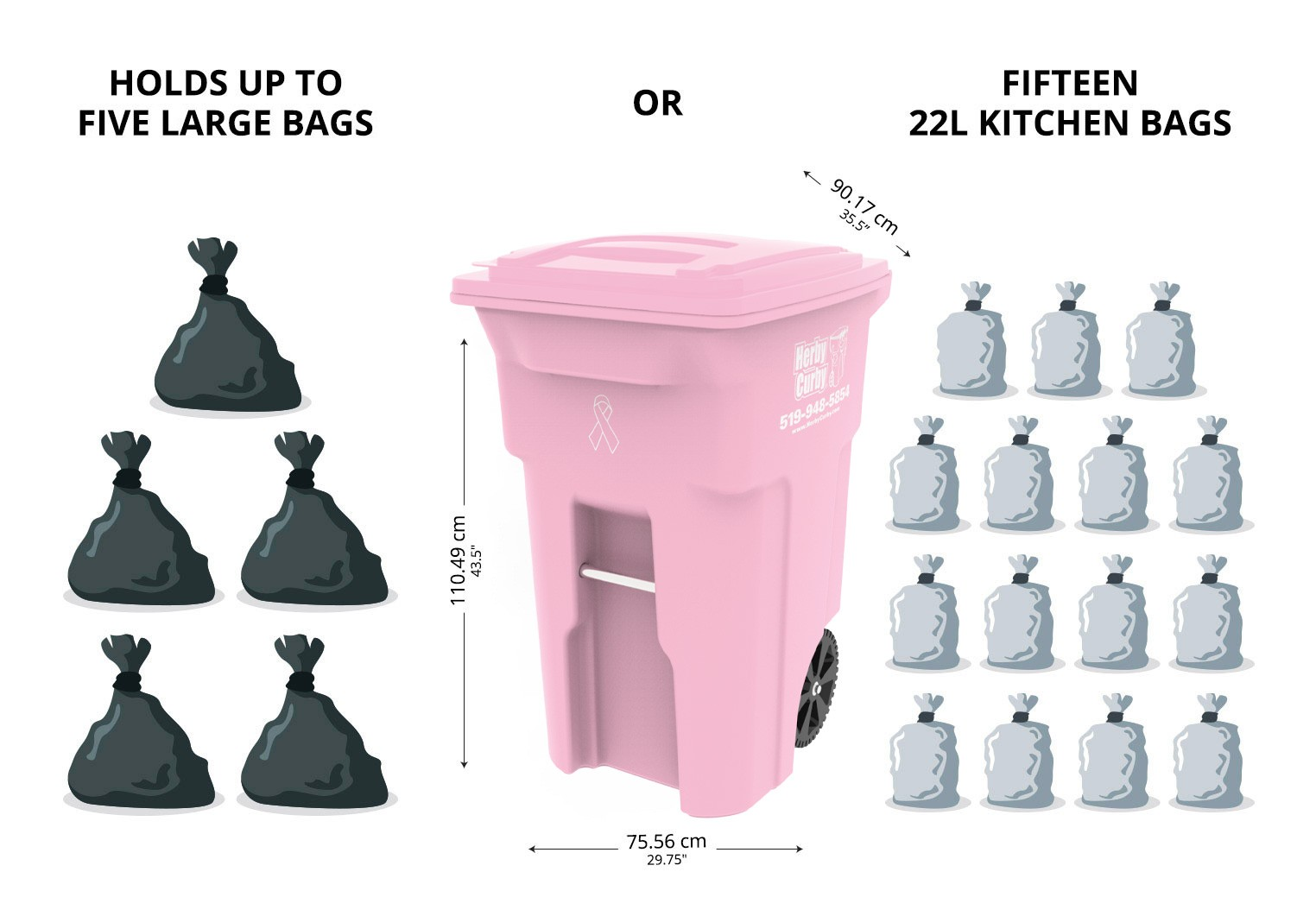 Large Pink Bags